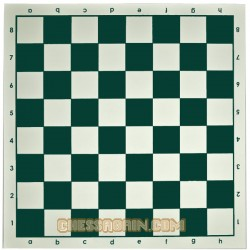 "VINYL CHESS BOARD 17"" x 17"""